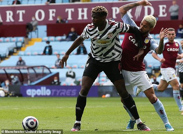Aston Villa's Dean Smith has slammed the 'pathetic' decision to award a penalty to Paul Pogba