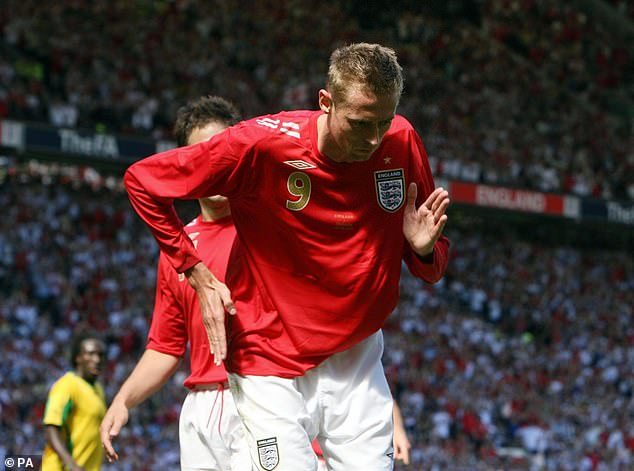 Against Jamaica in 2006 I was flying with two goals to my name and a penalty for the hat trick