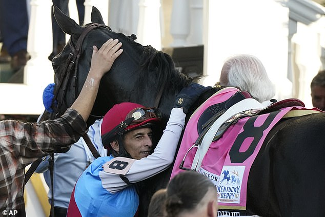 The horse tested over the limit for the drug betamethasone, and now faces disqualification