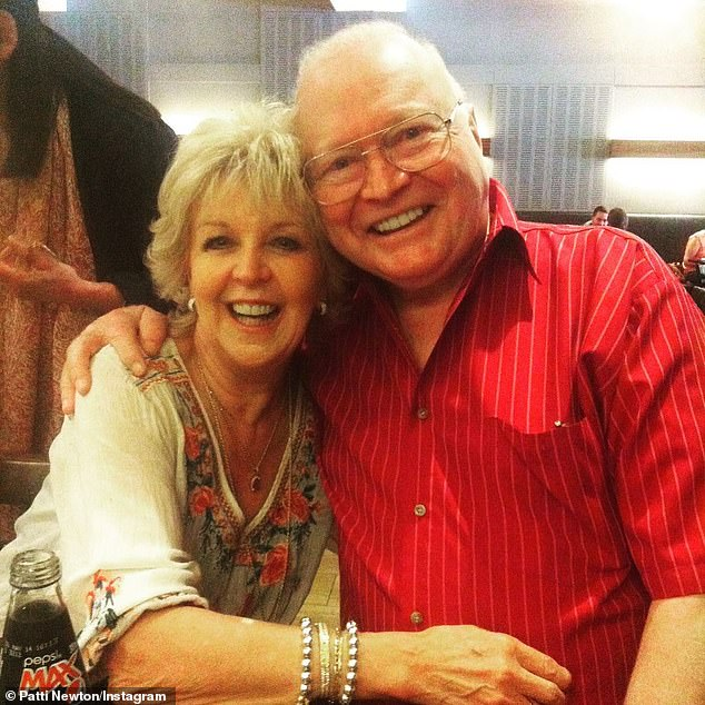 Health struggles: Bert's wife of 47 years, Patti Newton, told The Daily Telegraph she had 'never seen anybody in more pain' than her husband on the morning of his operation