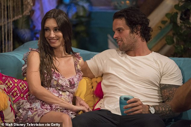 Will you accept this rose? The two first met during season five of Bachelor In Paradise and announced their engagement in 2019; they are seen in 2018