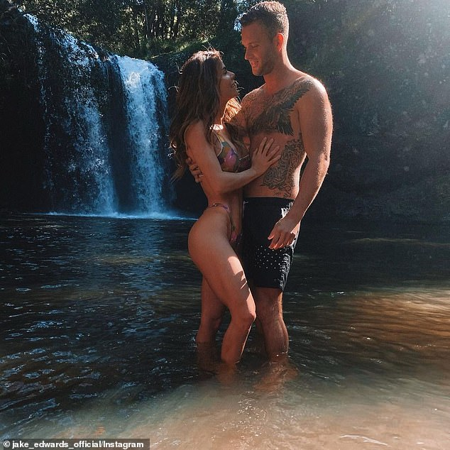 Smitten: 'I've just some things to tie up in Melbourne and in the next few months, I'll be becoming a resident for sure,' he told Daily Mail Australia on Saturday