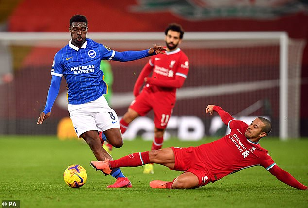 Liverpool have emerged as one of the side's monitoring Bissouma after a sublime season