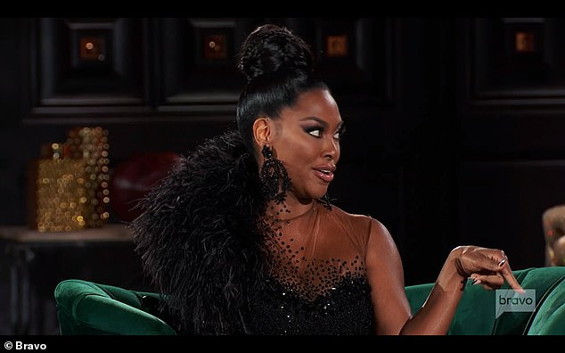 Kenya admits:Kenya admitted that she was 'like a dog with a bone' when it came to the bachelorette party, but it was all because she was tired of being called a liar by Porsha and others.