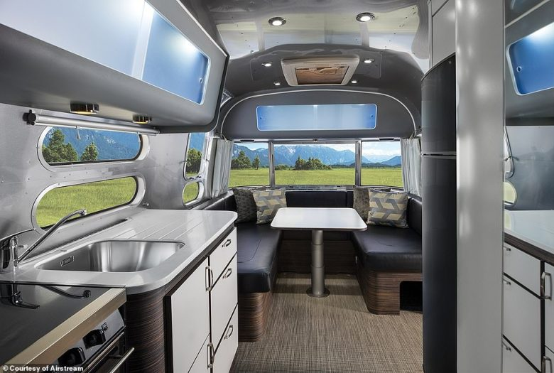 Combining tradition, style and luxury, the new Airstream starts from £105,000