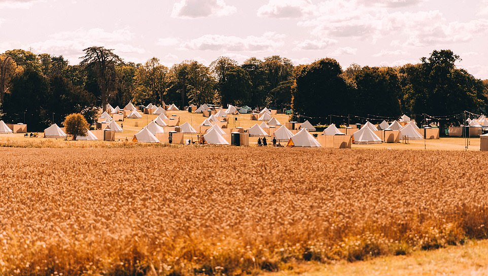 Cloud Nine Glamping in Dorset is open for six weeksover the summer,with a choice of accommodation including bell tents, teepees, safari tents and Airstream vans