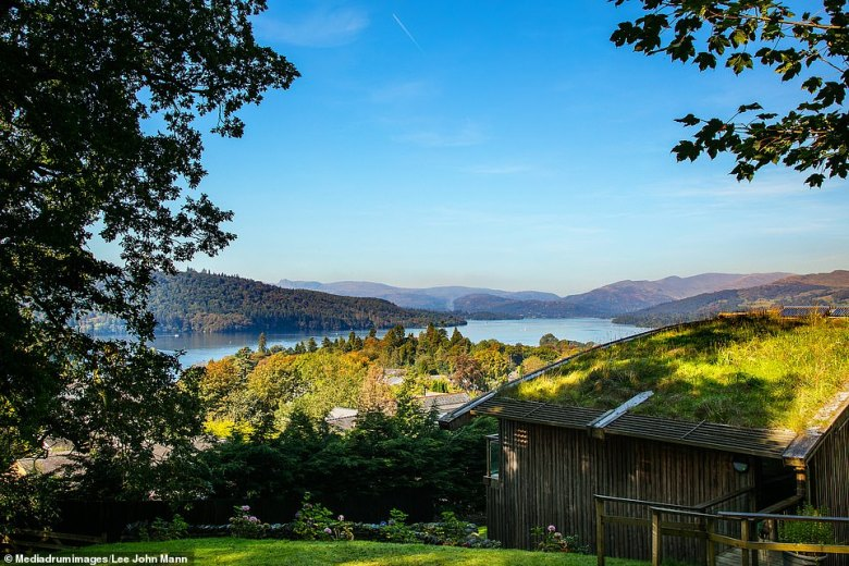 The stunning property offers amazing views overlooking the Lake District and the hills of Bowness
