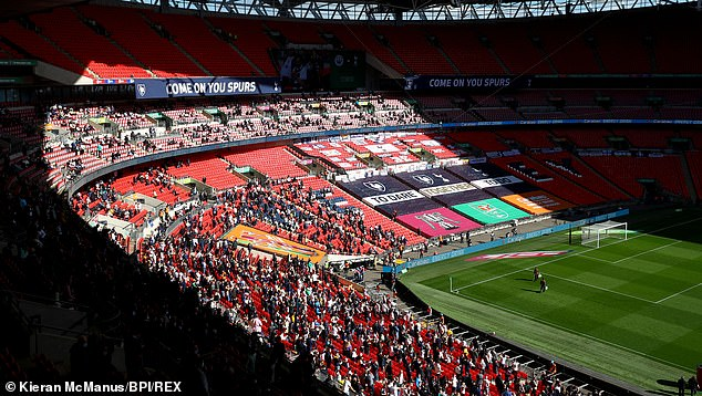 Last month's Carabao Cup final saw 4,000 fans attend Wembley as part of a pilot