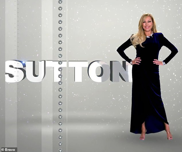 """""""Anyone who doubts my exquisite manners can kiss my exquisite derriere.  Sutton Stracke, 50, reveals"""