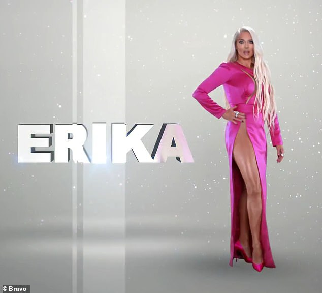 Jayne says: 'The strongest substance on earth isn't diamonds, it's me' as she dazzles in a hot pink dress with sexy cutouts