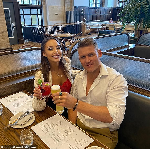 Friendly exes:This comes after a recent Instagram Q&A in which Seb was asked if he would ever get back with his ex-girlfriend Elizabeth Sobinoff, whom he met on Married At First Sight
