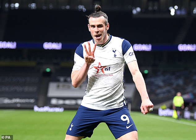 Bale has performed well since Mourinho was sacked, scoring three against Sheffield United