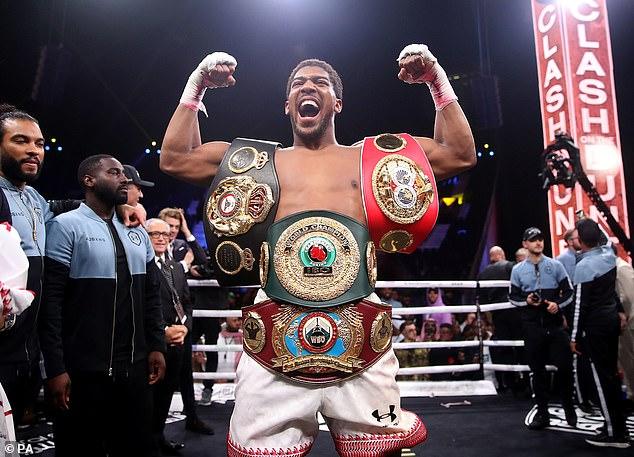 Joshua's successful rematch against Andy Ruiz Jr took place in Saudi Arabia in 2019