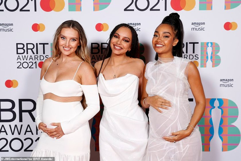Nominated: They are nominated for the best British Group award on Tuesday evening