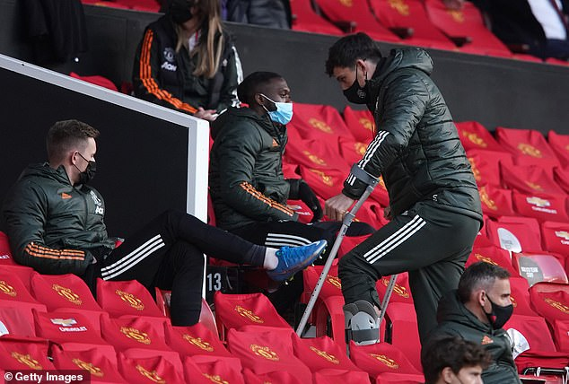 Although Harry Maguire is now nursing a ligament injury, Solskjaer has enjoyed the benefits of fielding a settled back four for much of the campaign