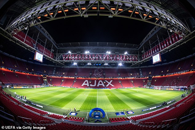 The Netherlands will play their three Group C games at the Johan Cruyff Arena in Amsterdam