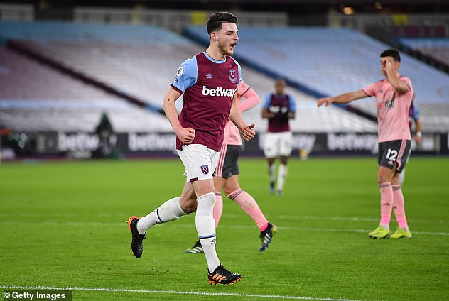 Declan Rice may raise a few eyebrows but he is emerging as an accomplished midfielder