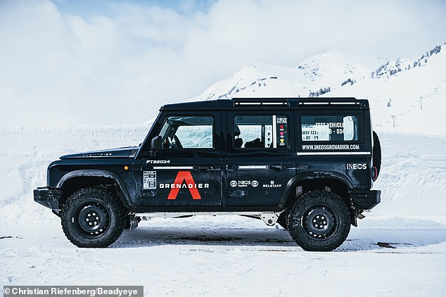 The Grenadier will be available as a conventional 4X4 and a flat-bed truck