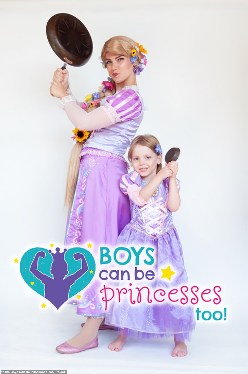 Boys can be Princesses too! 👸🏻👸🏼👸🏽
