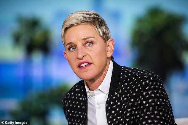 'The viewers have spoken': A producer who worked on the Ellen DeGeneres Show has come out swinging against her former employer (pictured) after the talk show host announced her decision to quit the long-running program on Thursday