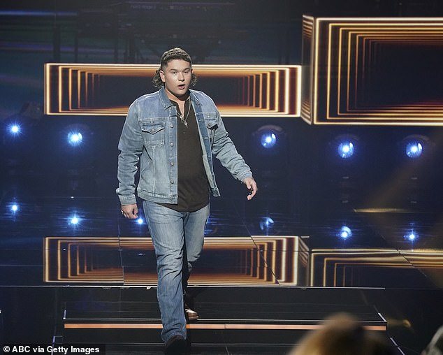 Moving forward:Sources told TMZ that Sunday's episode of the musical competition will be a top four showdown, with one contestant to be eliminated