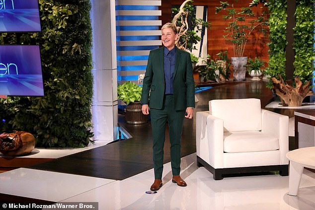 Suspicious timing: DeGeneres claimed she always planned to end the show after season 19, though she didn't address how claims that she fostered a toxic work environment impacted it