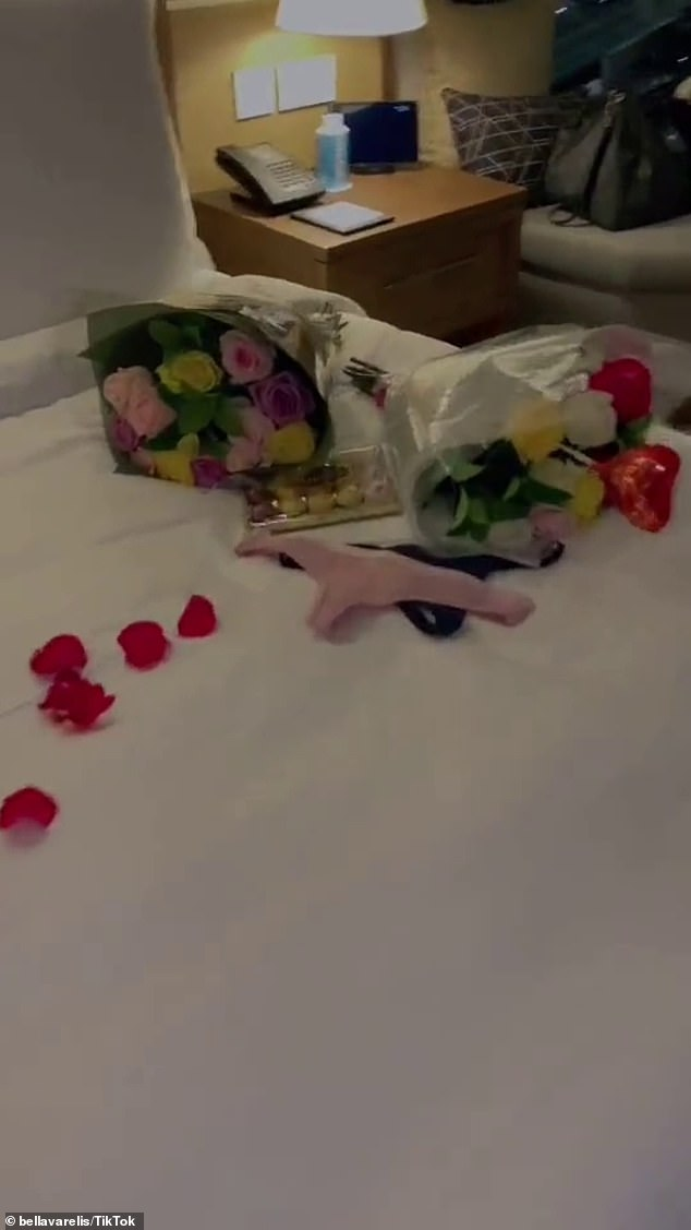 Romantic gestures:Some of their experiences as a couple include taking a road trip together, cuddles in a pool and even being surprised by rose petals in a hotel room.