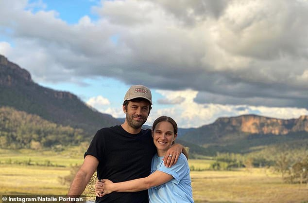 Taking in Australia's nature: In March, Natalie Portman explored the Blue Mountains in New South Wales