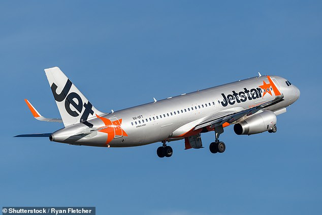 Jetstar flight JQ263 from Auckland to Wellington performed a 'go-around' on Tuesday leaving many passengers shaken (stock image)