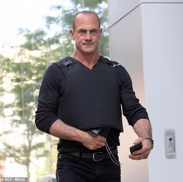 Fan favorite: He returned to the franchise to star in his own spin-off also from the stable of Dick Wolf