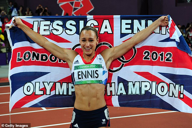 Jessica Ennis-Hill became an overnight star when she won heptathlon gold in London 2012