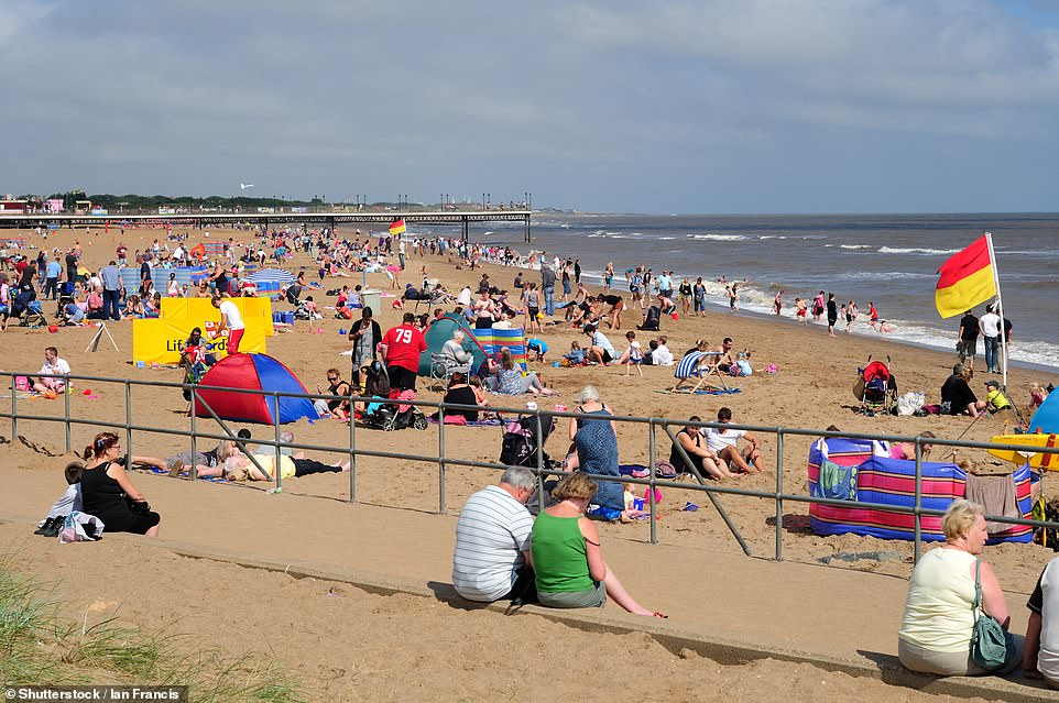 There are four Blue Flag beaches in the East Midlands region for 2021. Pictured is one of them, Central Beach Skegness