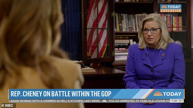 Liz Cheney vowed to do 'whatever it takes' to stop Donald Trump and didn't rule out her own presidential bid in the process