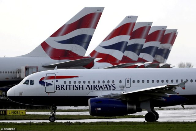 BA warned passengers on flights to Faro: 'You can only travel internationally from England for legally permitted reasons. This does not include holidays', despite Portugal being on the official 'Green List' from Monday
