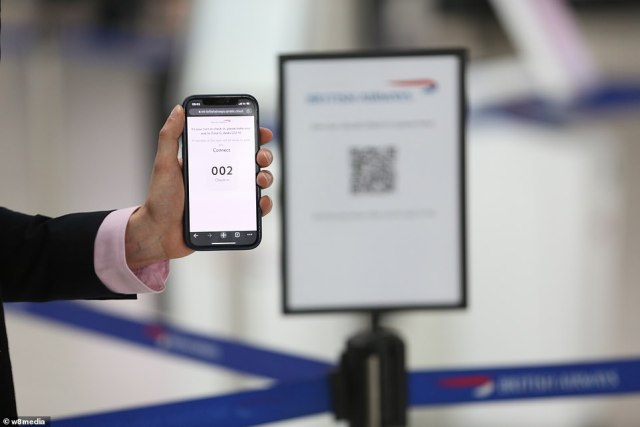 A virtual queuing system will be in place through Qmatic, which will prevent customers from waiting around at the check-in desks