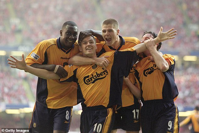 After breaking Arsenal hearts in the FA Cup final, Owen did the same to Liverpool when leaving