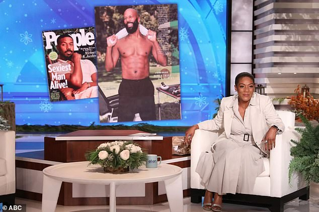 Comfortable:Tiffany, 40, stepped in for Ellen in October 2020 and just last month, while she has also hosted Kids Say The Darndest Things