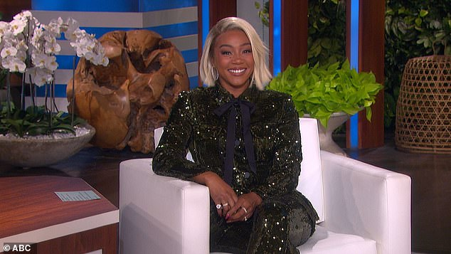 Money talks:Haddish then joked that money could lure her to the set: 'If I could get what Ellen getting,' she snapped. Seen on Ellen last year