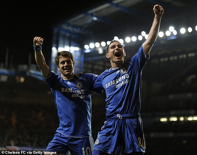 Cole (left) and Lampard were team-mates at their first club West Ham, Chelsea and England