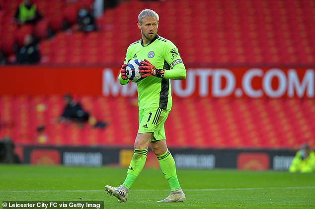 The Dane is now one of the Premier League's most reliable goalkeepers at Leicester City