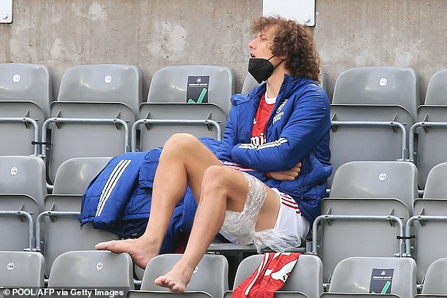 Luiz is currently sidelined with a hamstring injury suffered in Arsenal's win over Newcastle