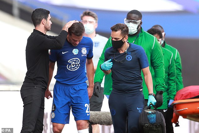 Azpilicueta came off the Wembley pitch in tears last season, will he be happier on Saturday?