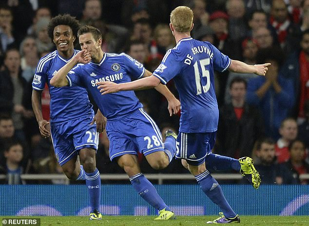 Azpilicueta joined Chelsea in 2012 when they had just won the FA Cup and Champions League