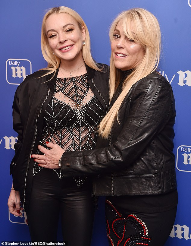 'Grow and learn': Dina Lohan spoke out after one of Chrissy Teigen's tweets, aimed at her daughter Lindsay, resurfaced in recent days