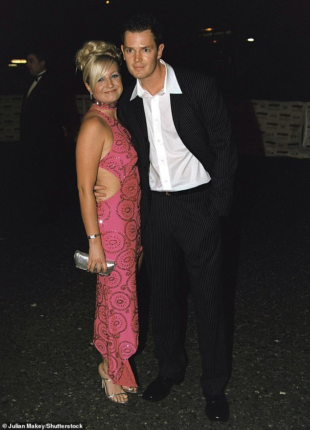 Old flame:Viewers were also captivated by her blossoming romance with housemate Paul Clarke, with the pair going onto date for five years before splitting in 2006