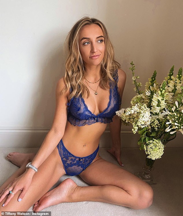 Wow:Tiffany Watson, left, and Zara McDermott have the led reality stars in a new sultry lingerie campaign for Boux Avenue