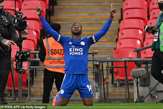 Iheanacho has been in scintillating form in 2021, and his goals alone ensure he starts up top