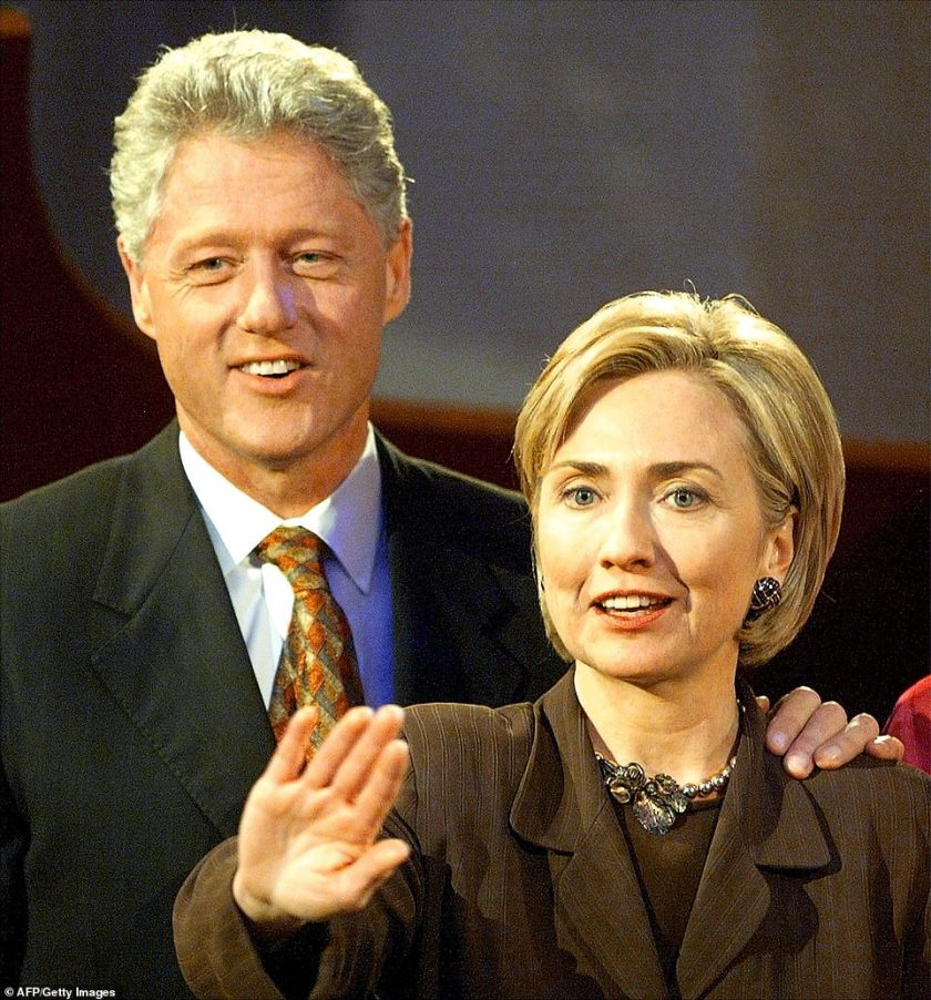 By his side:'I made a decision to stay with my husband. I think some people thought I made the right decision and some people thought I made the wrong decision,' she shared in her Hulu docu-series; pictured 1998