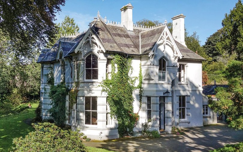 What she's bought: The comedienne, 63, and her husband, Mark Bignell, 56, have made the decision to relocate to the Cornwall and Devon border, with waterside views.The star and her husband have snapped up a secluded five-bedroom house (pictured) in the village, offering plenty of peace and privacy. While it is unclear how much they paid, the property last sold for just over £1.1million in 2009
