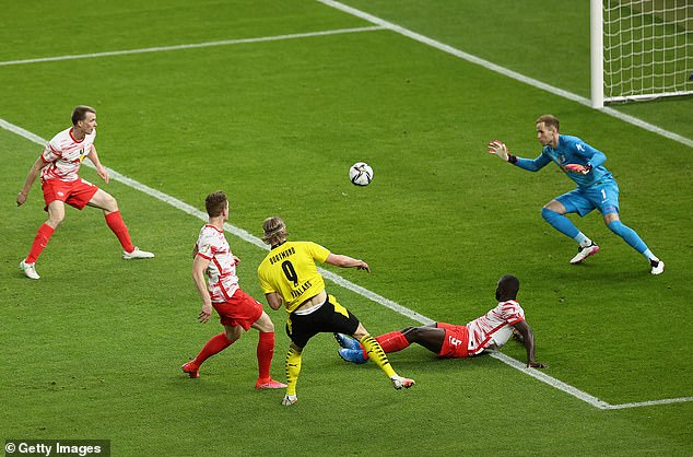 Haaland has scored 55 goals in 57 games for Borussia Dortmund since arriving from Salzburg